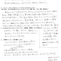 ロルフィング大阪上本町 感想・体験談