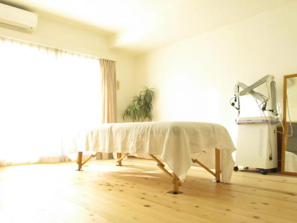 ロルフィング鍼灸hinata 部屋